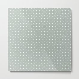 Dotted Ash Metal Print