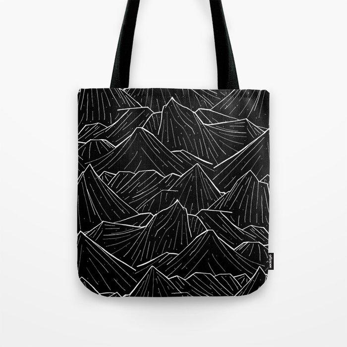 The Dark Mountains Tote Bag