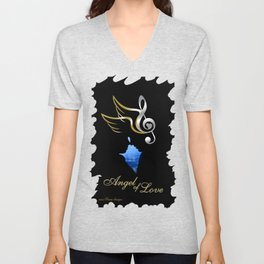 Angel of Love  Unisex V-Neck