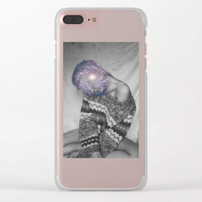 Where is my mind? no.4 Clear iPhone Case