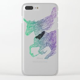 Dissolve Clear iPhone Case