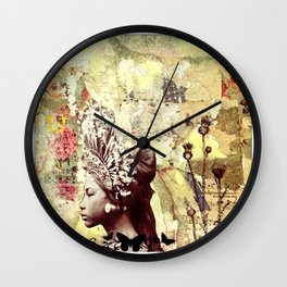 Seeking Serenity Wall Clock