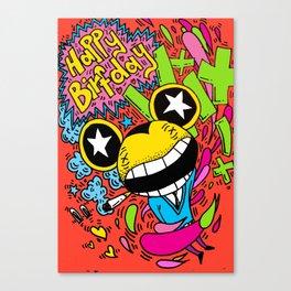 happy birthday vix Canvas Print