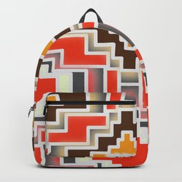 Festive shiny shapes Backpack