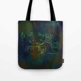 Ritual gathering 2 Tote Bag