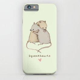 Squeakhearts iPhone Case