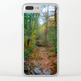 Rainy Day in the PNW Clear iPhone Case