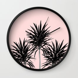 Palm Trees - Cali Summer Vibes #3 #decor #art #society6 Wall Clock