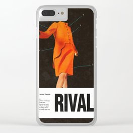 Self Rival Clear iPhone Case