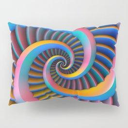 Opposing Spirals Pillow Sham