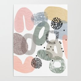 Abstract Wonderland Poster