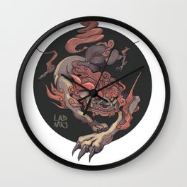 KOMAINU Wall Clock