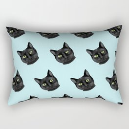 Black Cat Appreciation Day Rectangular Pillow