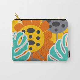 Sunflowers and leaves Carry-All Pouch