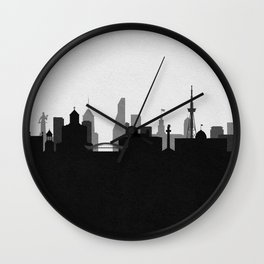 City Skylines: Tbilisi Wall Clock