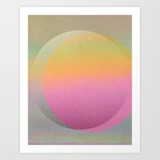 Untitled 20120815t (ANDY'S CIRCLE) Art Print