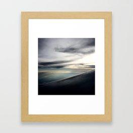 Rise Above. Framed Art Print