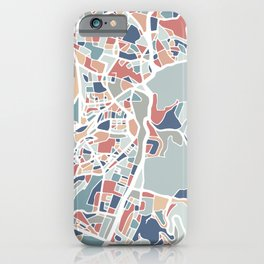 Jerusalem Map Art iPhone Case
