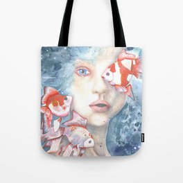 Under the Water and Dreaming Tote Bag