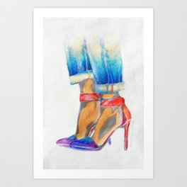 High-Ideals 1 Art Print