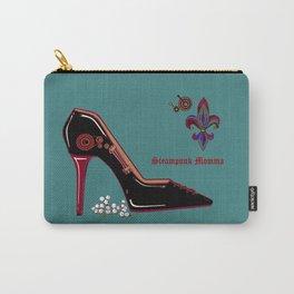 A Steampunk Pump, Stiletto, Steampunk Momma Carry-All Pouch