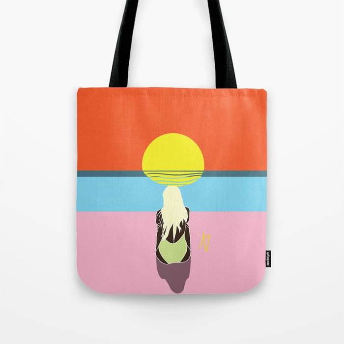 Sunset Babe Tote Bag