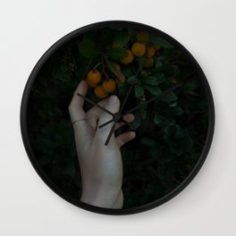 Fruit within Reach Wall Clock