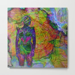 Girl IV Metal Print