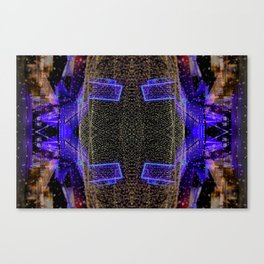 City Synthesis Canvas Print
