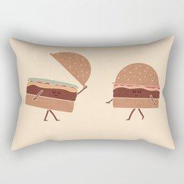 Hatburgers Rectangular Pillow