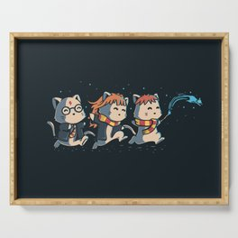 Potter Cats Serving Tray