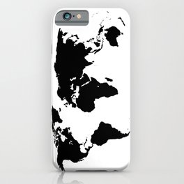 World Outline iPhone Case
