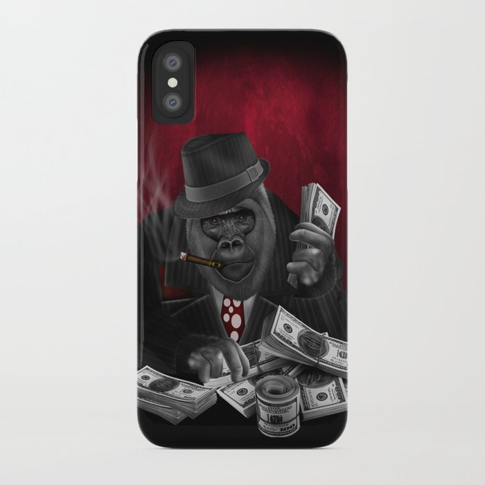 the latest d8965 794cb Mafia Of The Ape iPhone Case by digitalizedteam