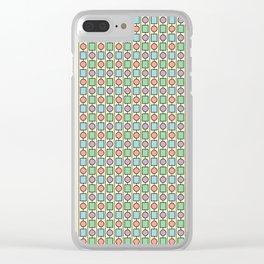 SHAPE UP, PASTELS Clear iPhone Case
