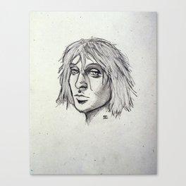 Cobain of the Rocks Canvas Print