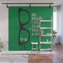 Nerd Is the New Black Wall Mural