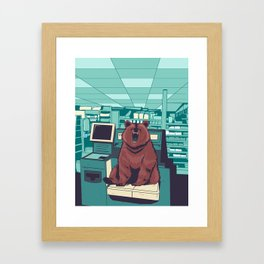 Unexpected Item in Bagging Area Framed Art Print