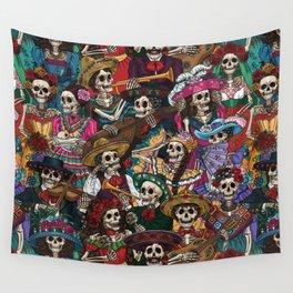 Dia De los Muertos Wall Tapestry