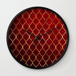 Moroccan Tile islamic pattern #society6 #decor #buyart #artprint Wall Clock