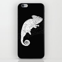chameleon iPhone & iPod Skins featuring CHAMELEON by ARCHIGRAF