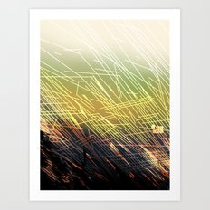 BREAKING GROUNDS Art Print
