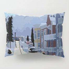 Snow Resort Pillow Sham