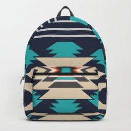 Double ethnic decor Backpack