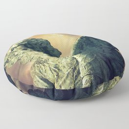 The Angel of Pere Lachaise Floor Pillow