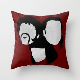 Pulp Fiction, 1994 (Minimalist Movie Poster) Throw Pillow