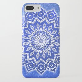 okshirahm, blue crystal iPhone Case