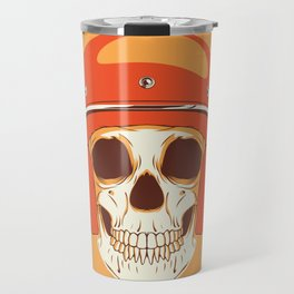 Helmet Skull Travel Mug