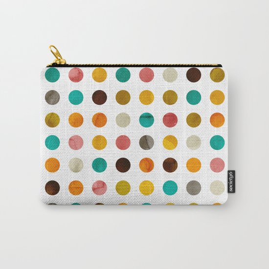 Autumnal polka dot Carry-All Pouch