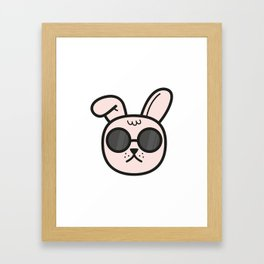 Deal with it Framed Art Print