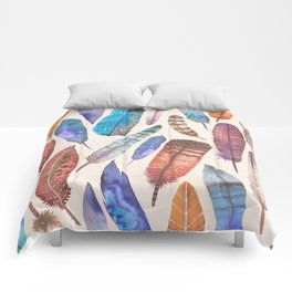 Floating Feathers Comforters